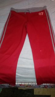 Red. active Wear Pants Size Large 12/14