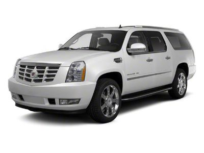 2012 Cadillac Escalade ESV Platinum Edition (White Diamond Tricoat)