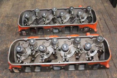 Buy 1968 1969 BBC 396 427 Rectangle Port Cylinder Heads 3919840 840 L-4-8 C-12-9 motorcycle in Cincinnati, Ohio, United States, for US $2,300.00