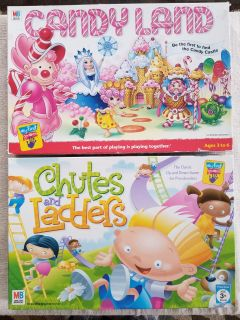 Candyland & Chutes and Ladders Set