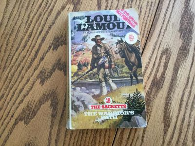 Louis L Amour book - The Warrior s Path