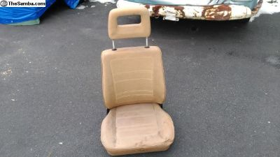 early Vanagon front seat