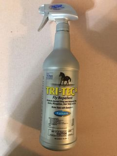 BRAND NEW FARNAM TRI-TEC14 HORSE FLY REPELLENT WITH SUNSCREEN