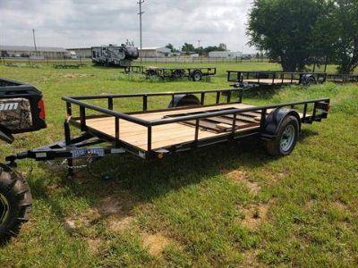 "2019 Texas Bragg 14'77"" Utility Trailers Durant, OK"