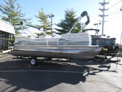 1999 Smoker Craft 822 Trade Winds Pontoons Boats Saint Peters, MO