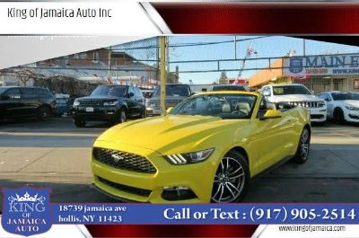 2017 Ford Mustang EcoBoost Premium Convertible (Yellow)