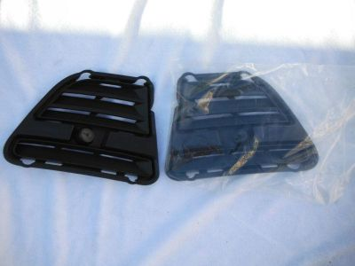 Purchase 2013-2014 Mustang bumper left & rigth FOG LIGTH COVERS BLACK motorcycle in Sun Valley, California, US, for US $35.00