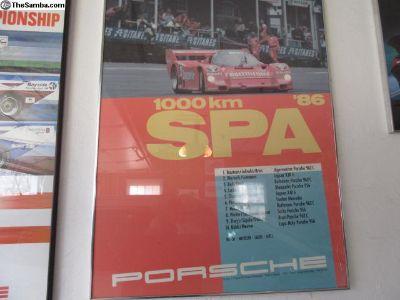 Posters,Vintage Porsche 906,917, 959,911, ETC.