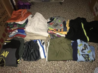 $20 for Bulk of 32 pieces for boys sizes ranging 7-12
