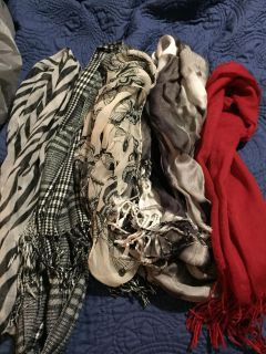 5 scarves $3 for all