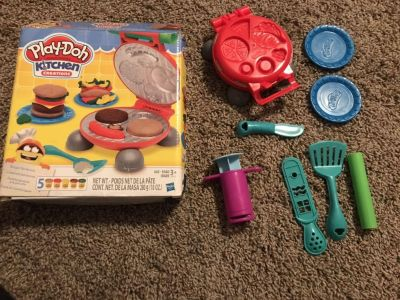 Play doh grill set