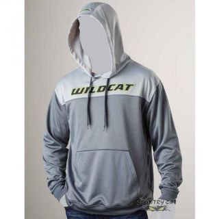 Find Arctic Cat Men's Wildcat Performance Hoodie Sweatshirt Lime Gray ATV 5258-82_ motorcycle in Sauk Centre, Minnesota, United States, for US $59.99
