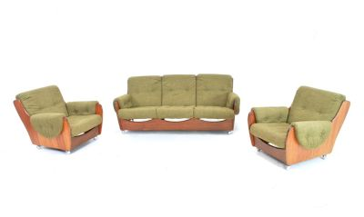 Mid Century Sofa and Chairs by G Plan...