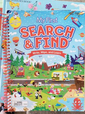 Dry erase search and find