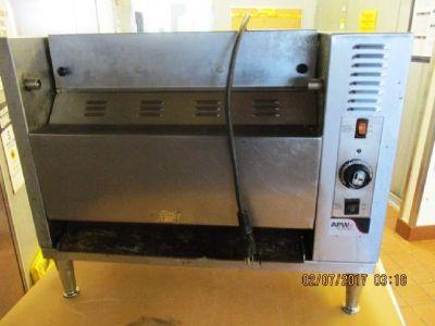 APW Wyott, Vertical Bun Grill Toaster, 120V RTR#6122275-13