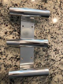 3 rod transom mount rod holders