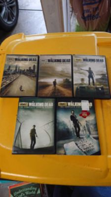 Walking dead seasons 1-5