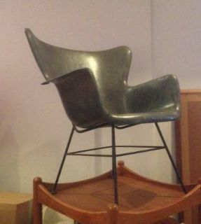 fiberglass shell lounge chair Lawerence Peabody