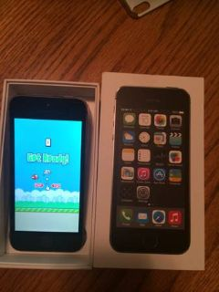 iphone 5s 16gb- flappy bird
