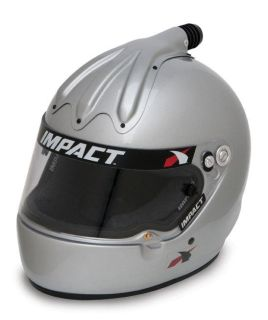 Buy IMPACT RACING 17699608 SS AIR HELMET X LARGE SILVER SA2010 motorcycle in Moline, Illinois, US, for US $434.99