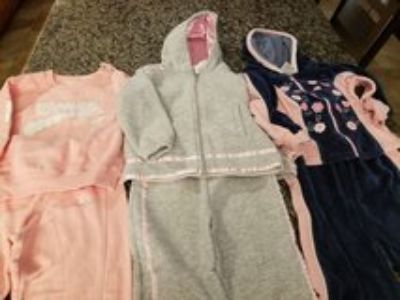 3 sets( 6 pieces) toddler size 4