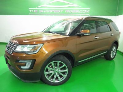 2017 Ford Explorer Limited 4X4 Navi* BackUp 3rd Row Leather