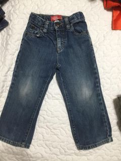 Old navy 2t jeans w adjustable waistband