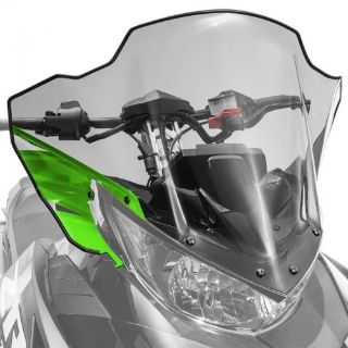 Purchase Arctic Cat Mid Windshield Clear Tinted w/Green 2014-2017 ZR XF M 7000 - 7639-373 motorcycle in Sauk Centre, Minnesota, United States, for US $107.99