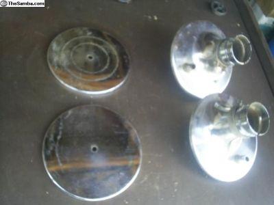 Type 3 dual carburetor air cleaners