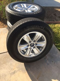 Ford rims and tires