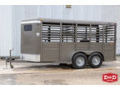 Calico Trailers 16 Ft Stock Trailer