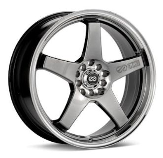 Find Enkei EV5, 18 x 7.5, 5x100|114.3, 38mm Offset, Hyper Black (1) Wheel/Rim motorcycle in Roanoke, Texas, US, for US $190.00