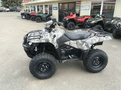 2013 Suzuki KingQuad 750AXi Power Steering Camo ATV Utility ATVs Butte, MT