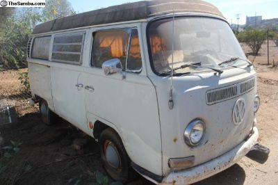 1971 Westfalia Camper Poptop Van