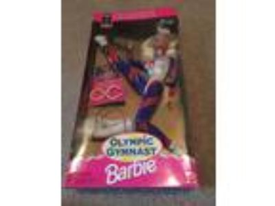 Barbie Doll 1996 Atlanta Olympic Gymnast Blonde MIB Vintage