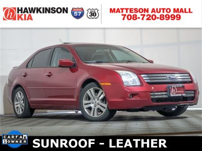 2007 Ford Fusion I4 SE (Redfire Clearcoat Metallic)