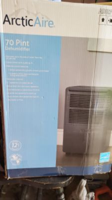ArcticAire 70-Pint Dehumidifier For Up To 4,500 Square Feet