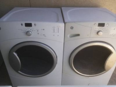 GE matching Front Load Washer Dryer