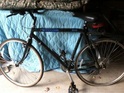 "Canondale ""Cross training"" bike. Needs a back tire"