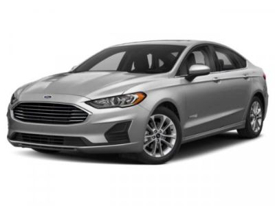 2019 Ford Fusion Hybrid SE (White Gold Metallic)
