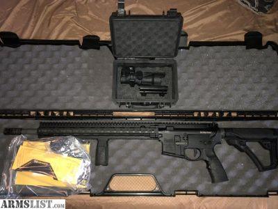 For Sale/Trade: Daniel Defense DDM4V11 PRO with Trijicon TA31TRD