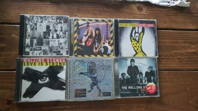 Rolling Stones cd collection