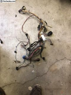 RABBIT WIRING HARNESS 1975-1980 DASHBOARD good