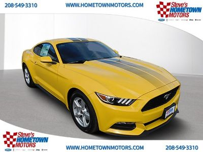 2017 Ford Mustang V6 (Triple Yellow)