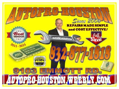 Brake Service and Repair in Jersey Village TX at AutoPRO-Houston