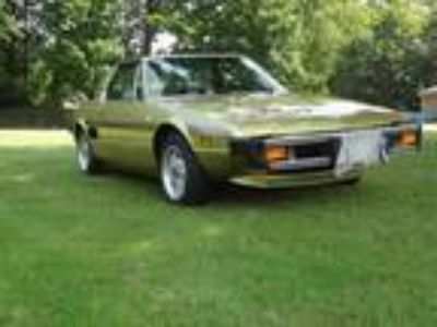 1978 Fiat X-1/9 AC