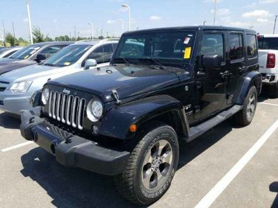 2018 Jeep Wrangler JK Unlimited Sahara **ONE OWNER**CLEAN CARFAX**RECENT TRADE**