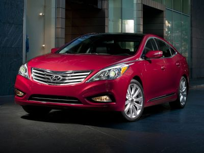 2014 Hyundai Azera Limited (Black)