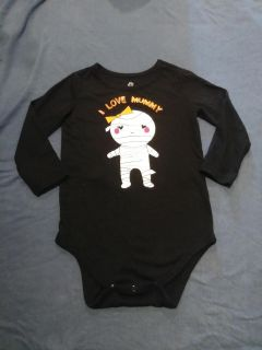 Like NEW washed but never worn HALLOWEEN onesie 18 months long sleeves PICK UP ONLY