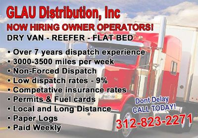 CDL OTR Owner Operators WANTED
